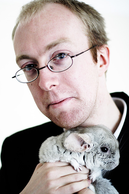 Chris Chinchilla And A Chinchilla
